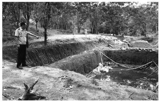 海南首例特大非法开采稀土矿案宣判