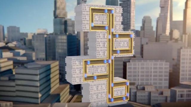 可在不同建筑物之间水平移动的电梯