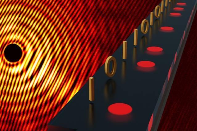磁性粒子提供制造数据存储器的新方法  磁存储器容量的摩尔定律有望延续