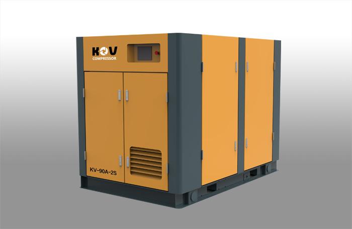 两级压缩螺杆式空压机优势 运用价值