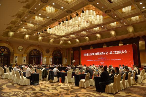 中国稀土行业协会磁性材料分会二届二次会员大会暨2019中国稀土永磁论坛在赣州顺利召开