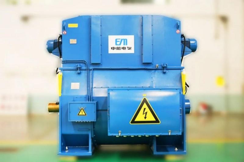 中船电气正式发布全新一代9MW级高速永磁风力发电机