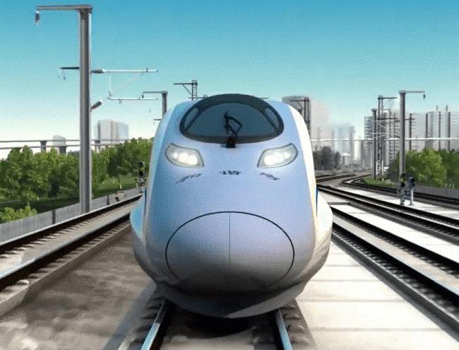 """中国""""永磁动力高铁""""面世,时速400公里,动力系统惊艳全世界"""